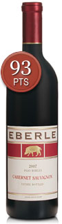 2007 Eberle, Estate Cabernet