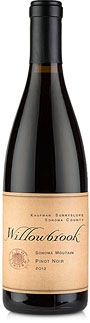 2012 Willowbrook Pinot Noir, Kaufman Vineyard