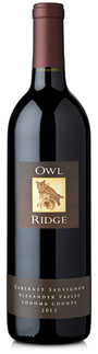 2013 Owl Ridge Alexander Valley Cabernet