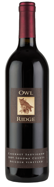 2009 Owl Ridge Brigden Vineyard Cabernet