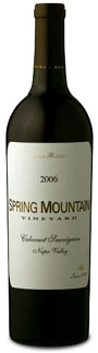 2006 Spring Mountain Cabernet