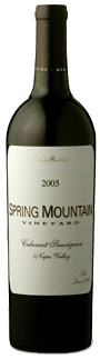 2005 Spring Mountain Cabernet